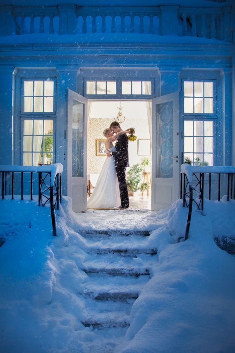 bryllupsfotografering om vinteren